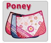 Tapis de selle pour poney Time 4 joy